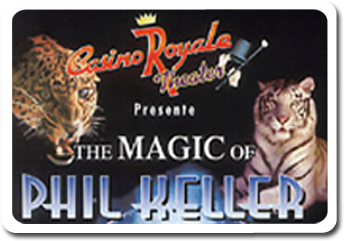 <h2>Magic shows in the casinos</h2>  			- Saint Vincent (Italy)<br /> 			- Deauville (France)<br /> 			- Divonne les Bains (France)<br /> 			- Figueira da Foz (Portugal)<br /> 			- La Perla (Slovenia)<br /> 			- Casino Royale (St Martin)<br /> 			- Casino Ruhl Nice (France)